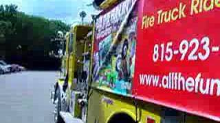 Call 815-600-6464 Chicago Fire Truck Parties,rides,rentals,chicagoland,chicago Kids Party