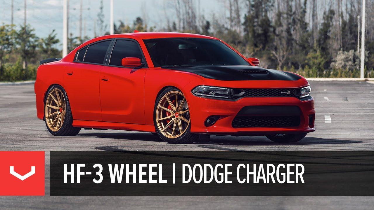 Vossen Hybrid Forged Hf 3 Wheel Dodge Charger Pack