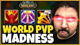 #1 CLASSIC RET PALADIN 1V3 OUTPLAYS HORDE (WORLD PVP & MORE) - Classic WoW