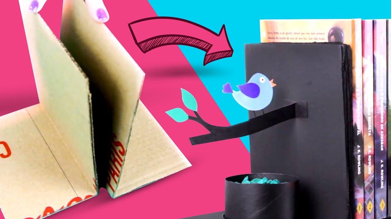Artesanato Com Madeira Pregos E Linha ~ Apoiador de Livros =DiY YouTube