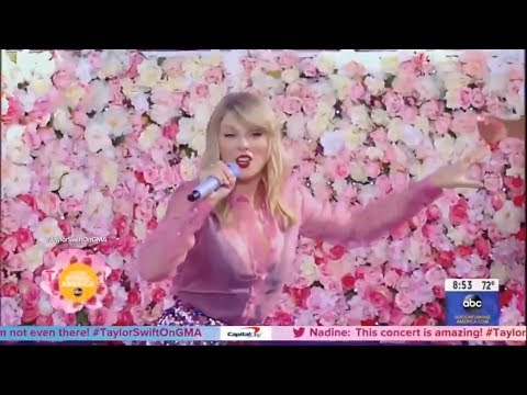 Good Morning America   Taylor Swift performance