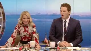 Chris Pratt Accidentally Gives Away Travel Trivia Prize