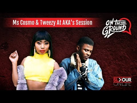 On The Ground: Tweezy On Working With AKA Again & Ms Cosmo Rates #TouchMyBlood On First Listen