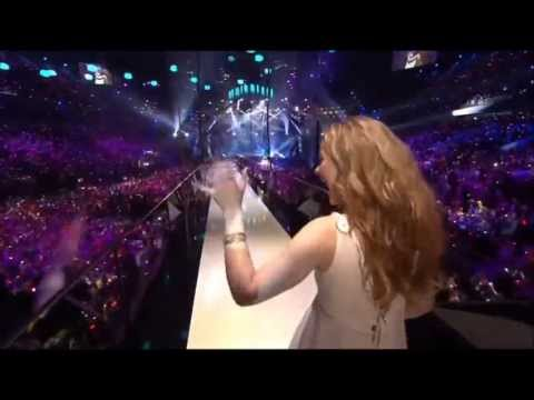 HD * Emmelie De Forest - Only Teardrops (Denmark) - Ending Performance