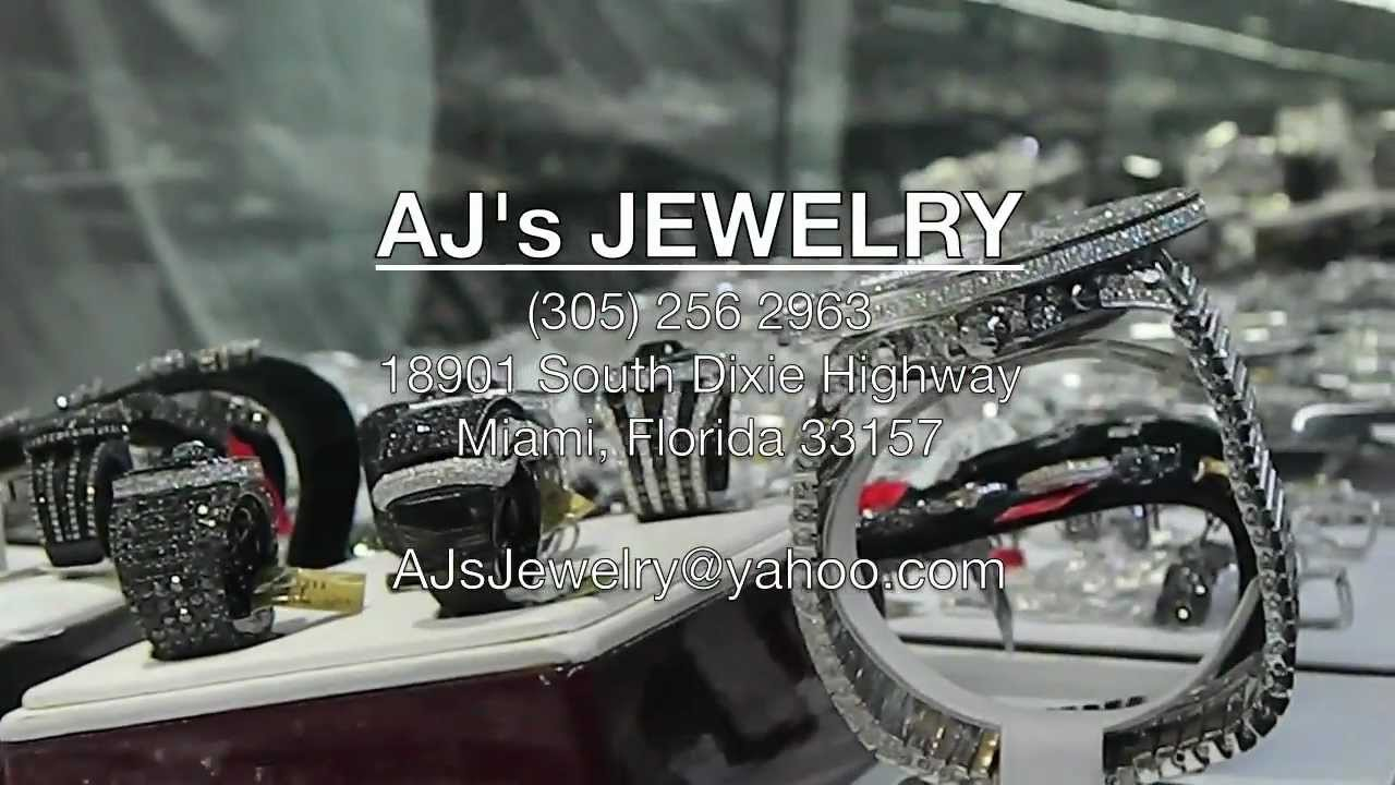 aj 39 s jewelry miami fl 2012 youtube