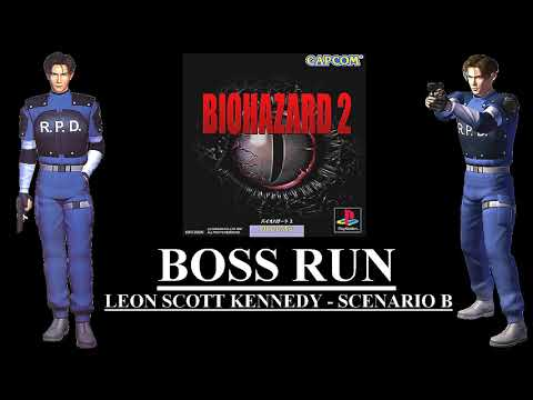 Biohazard 2 (PlayStation) - (All Bosses - Normal Difficulty)