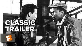 Edge of the City (1957) Official Trailer - Sidney Poitier, John Cassavetes Movie HD