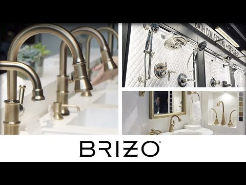 Brizo Brings Luxurious & Trendy Bath and Kitchen Faucets to KBIS