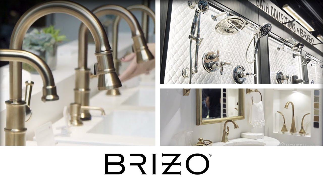 brizo brings luxurious trendy bath and kitchen faucets to kbis