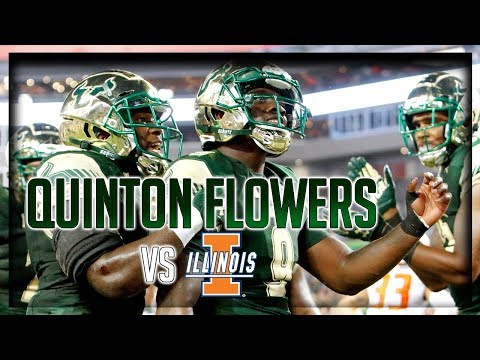 Quinton Flowers Highlights vs Illinois // 15/27 386 Total Yards, 5 TDs // 9.15.17