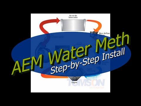How To: AEM Water Meth Injection Step by Step Install Subaru WRX STI 2door