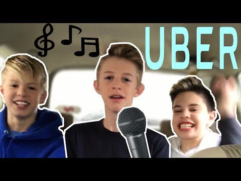 SINGING TO UBER DRIVERS 😂 Carson Lueders  Christian Lalama