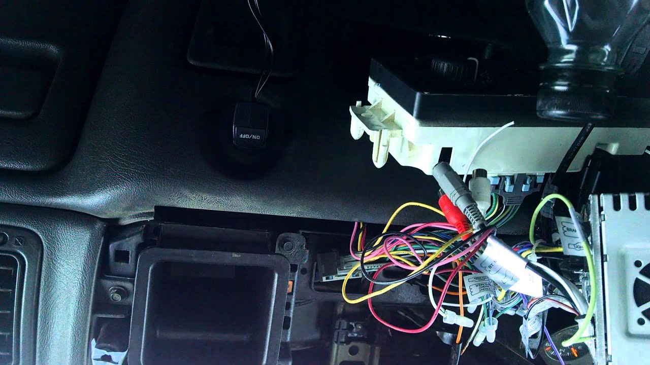 maxresdefault installing boss 9364 youtube Koolertron Backup Camera Installation Diagram at gsmx.co