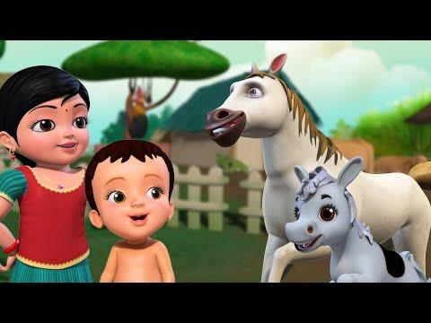 Download My Grandpa's Farm - ಕೃಷಿ ಪ್ರಾಣಿಗಳ ಹಾಡು | Kannada Rhymes for Children | Infobells