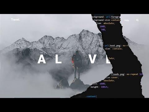 Recreate Adobe XD's Parallax Animation using HTML | CSS | RellaxJS thumbnail