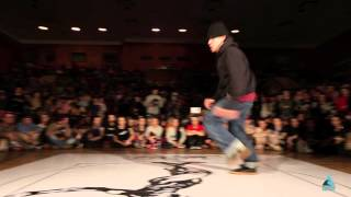 JUSTE DEBOUT RUSSIA 2014 | TOP ROCK SEMIFINAL | B-GIRL SPANISH HUSTLE vs ATAZHAN