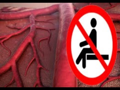 HOW 3 HOURS OF SITTING CAN DAMAGE YOUR BLOOD VESSELS