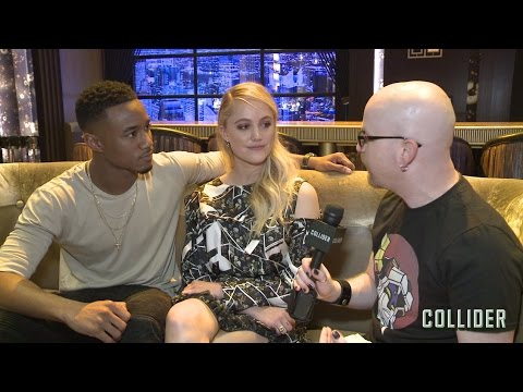 "'Independence Day: Resurgence' Stars Maika Monroe & Jessie Usher Say Sequel Is ""Larger Than Life"""
