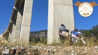 Reisedoku Tour de Lomoten 2016/5. Motorradtour um Spanien, Portugal Andorra, canfranc,lost place
