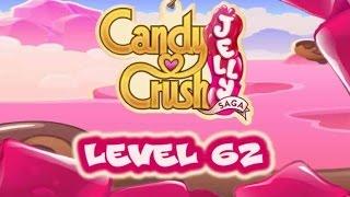Candy Crush Jelly Saga Level 62