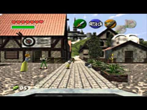 Zelda Ocarina Of Time Musique -  Place Du Marché