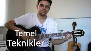 Gitarda TEMEL TEKNİKLER