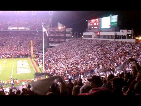 Carolina vs Clemson 2011 Sandstorm - YouTube