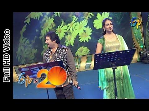 Mano and Anjana Performs - Jilibili Palukula Song in Bheemavaram ETV @ 20 Celebrations