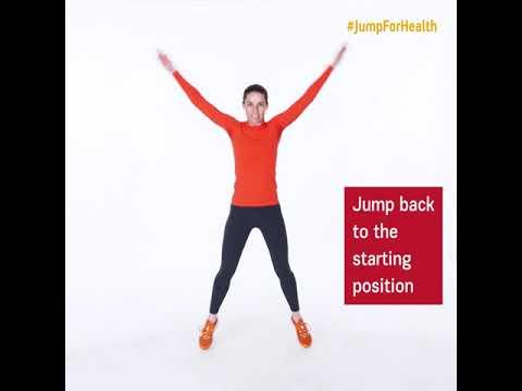 Day 6 The Standard Jumping Jacks Jumpforhealth