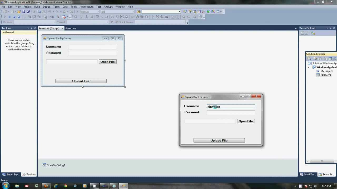 Vb. Net 2010 tuts how to upload any file on ftp server youtube.