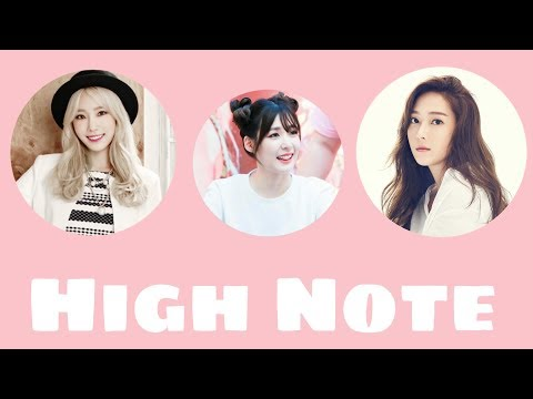 Best High Note - TAEYEON TIFFANY JESSICA (Girls' Generation)