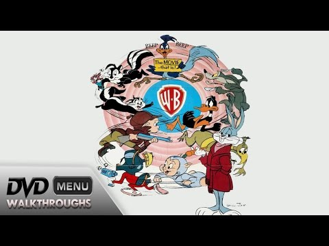 The Bugs BunnyRoad Runner Movie 1979, 2014 DvD Menu Walkthrough