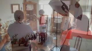 Equipo de trabajo detrás de cámaras.