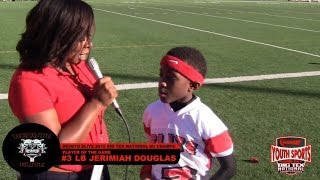 nsme ysg 2015 big tex   interview potg 3 jerimiah douglas 8u linebacker desoto elite
