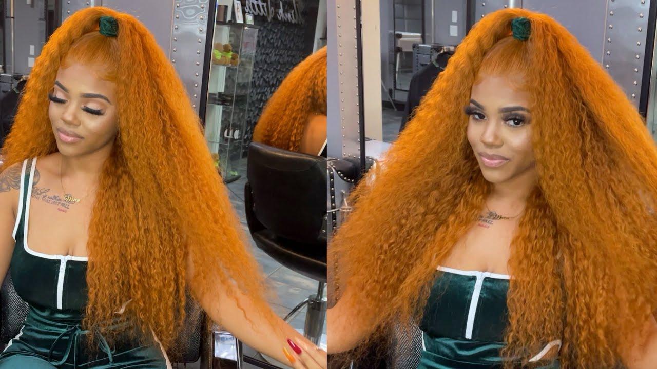 Ginger Hair Color 🍂 | SZA Inspired 🔥 | BGMgirlHair |
