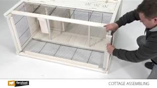 Rabbit cage assembling