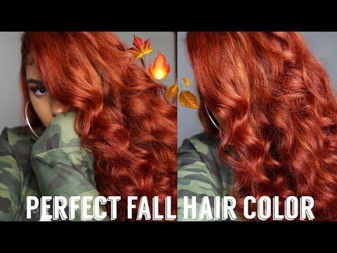 Cinnamon Spice Copper Hair Color | Sza Inspired Color