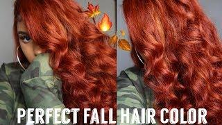 Cinnamon Spice Copper Hair Color   Sza Inspired Color