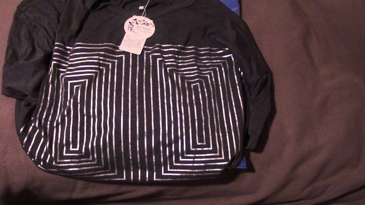 902ccc8c44b AliExpress and Zulily plus size clothing unbagging PT 1 - YouTube