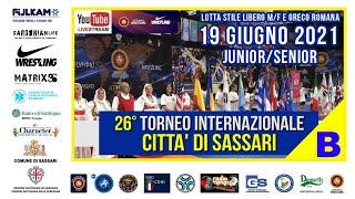 26° Torneo Internazionale Città di Sassari   Mat. B   19 Giugno 2021