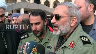 """Iran: US """"will no longer find peace"""" says top cleric Khatami after Soleimani killing"""