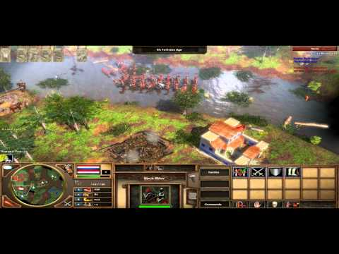 AoE3: Dutch vs. Ottoman on Bayou