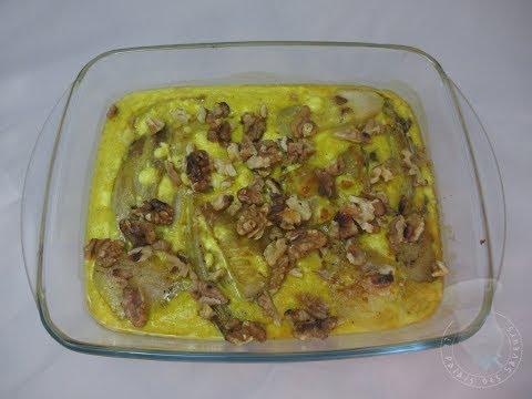 recette-du-gratin-d'endives-aux-poires