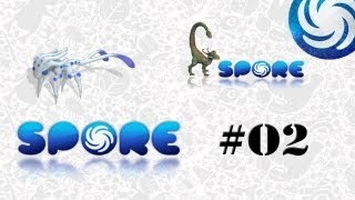 SPORE (Human Evolution)- Ep #02 The Creature Stage Part 1