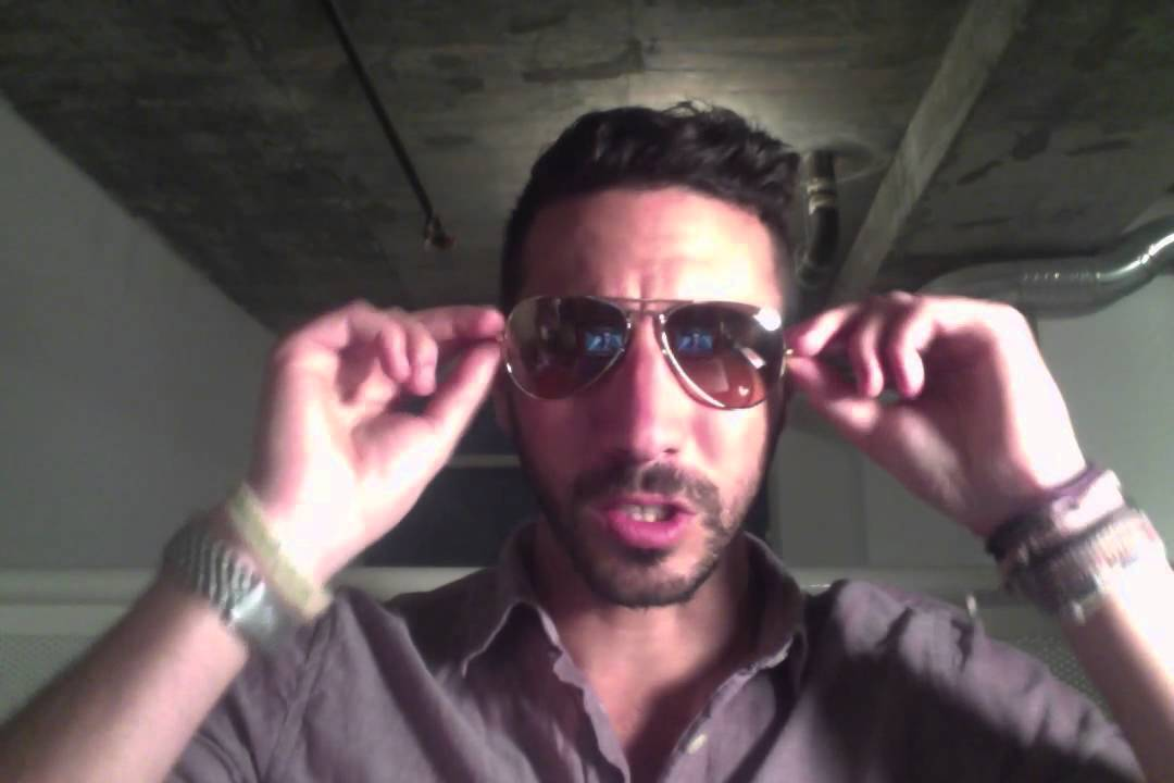 684cbae16 Ray-Ban Aviators RB3025 001/3E Review - YouTube