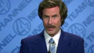 Will Ferrell: Being a real anchorman was beyond my skill