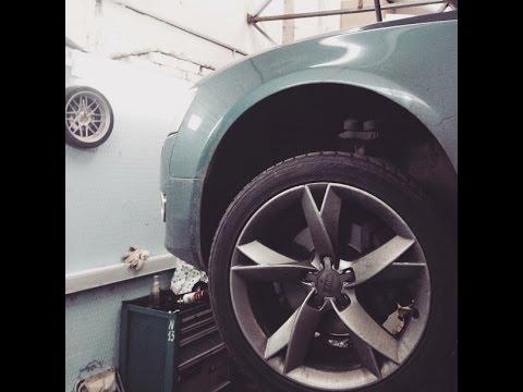 Автосервис и Ремонт автомобиля, AUDI A5, Ауди А5, Видеоурок. Профессиональная замена шруса. Часть1.