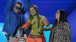 """Sofia Reyes gana """"Hit Favorito"""" #KCAMexico2018"""