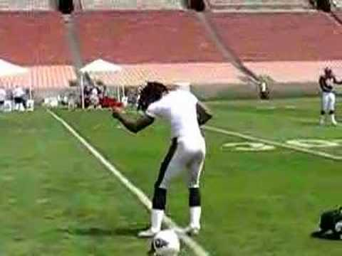 Laurence Maroney dancing at 2006 NFL Rookie Premiere Part 1