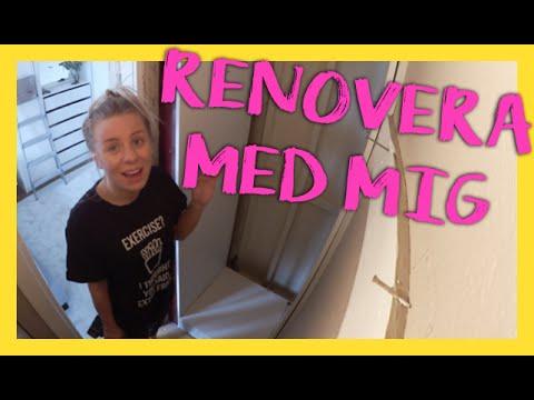 RENOVERA MED MIG | Förrådsrenovering del 1